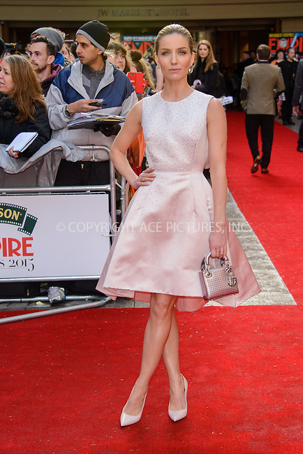 WWW.ACEPIXS.COM<br /> <br /> March 29 2015, London<br /> <br /> Annabelle Wallis attends the Jameson Empire Awards at the Grosvenor Hotel on March 29 2015 in London.<br /> <br /> By Line: Famous/ACE Pictures<br /> <br /> <br /> ACE Pictures, Inc.<br /> tel: 646 769 0430<br /> Email: info@acepixs.com<br /> www.acepixs.com