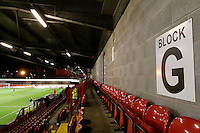 A general view of the stands prior to the Sky Bet League 2 match between Crawley Town and Exeter City at Broadfield Stadium, Crawley, England on 28 February 2017. Photo by Carlton Myrie / PRiME Media Images.