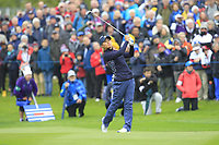 Danielle Kang (USA) on the 1st fairway during Day 3 Singles at the Solheim Cup 2019, Gleneagles Golf CLub, Auchterarder, Perthshire, Scotland. 15/09/2019.<br /> Picture Thos Caffrey / Golffile.ie<br /> <br /> All photo usage must carry mandatory copyright credit (© Golffile | Thos Caffrey)