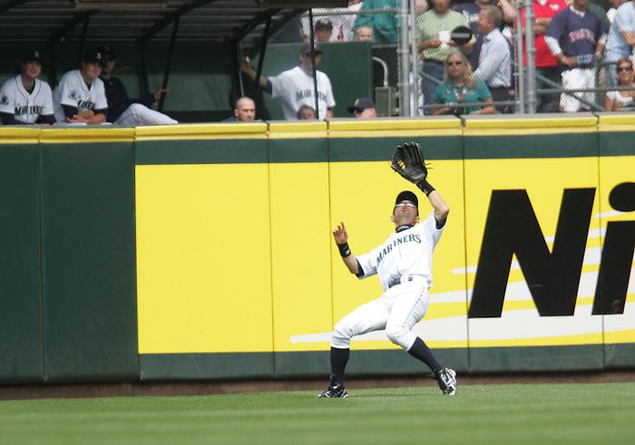 27 June 2007: Seattle Mariners #51 Ichiro Suzuki Seattle Mariners vs Boston Red Sox at Safeco Park in Seattle, Washington.