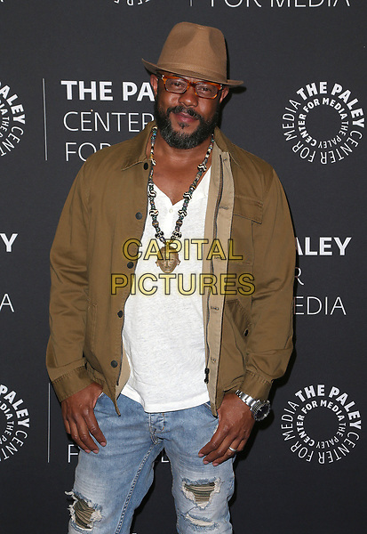 29 March 2017 - Beverly Hills, California - Rockmond Dunbar. 2017 PaleyLive LA Spring Season - &quot;Prison Break&quot; Screening And Conversation held at The Paley Center for Media.    <br /> CAP/ADM/FS<br /> &copy;FS/ADM/Capital Pictures