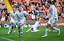 Aberdeen's Niall McGinn celebrates after he scores Aberdeen's equaliser   ...