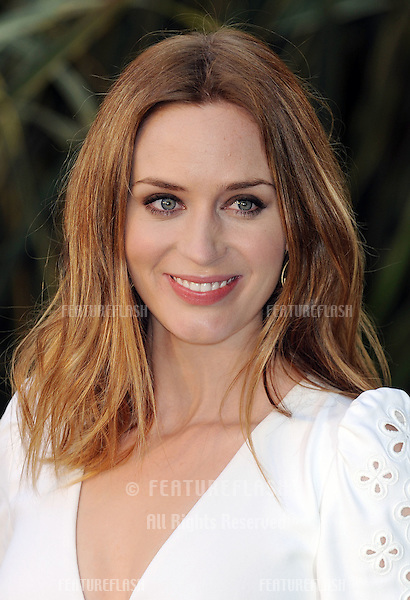 Emily Blunt attends the Gnomeo and Juliet UK Premiere .at the Odeon Leicester Square, London.  .January 30, 2011 London, United Kingdom.Picture: Gerry Copper / Featureflash..