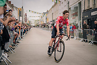 Jasper de Buyst (BEL/Lotto-Soudal) at the Team presentation in La Roche-sur-Yon<br /> <br /> Le Grand Départ 2018<br /> 105th Tour de France 2018<br /> ©kramon