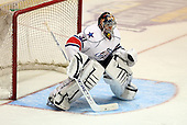 February 24th 2008:  Tyler Plante (31) of the Rochester Amerks in goal vs. the Houston Aeros at Blue Cross Arena at the War Memorial in Rochester, NY.  The Aeros defeated the Amerks 4-0.   Photo copyright Mike Janes Photography 2008