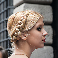 Quarto giorno della Settimana della Moda a Milano<br /> <br /> Fourth  day of Milan Fashion Week