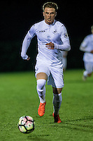 Friday  16 December 2014<br /> Pictured:  Liam Edwards of Swansea City in action <br /> Re: Swansea City U18s v Wolverhampton Wonderers U18s, 3rd Round FA youth Cup Match at the Landore Training Facility, Swansea, Wales, UK