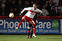Marcus Haber of Stevenage .Stevenage v Crawley Town - npower League 1 -  Lamex Stadium, Stevenage - 15th December, 2012. © Kevin Coleman 2012..