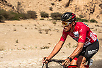 Race leader Greg Van Avermaet (BEL) BMC Racing Team during Stage 4 of the 2018 Tour of Oman running 117.5km from Yiti (Al Sifah) to Ministry of Tourism. 16th February 2018.<br /> Picture: ASO/Muscat Municipality/Kare Dehlie Thorstad | Cyclefile<br /> <br /> <br /> All photos usage must carry mandatory copyright credit (&copy; Cyclefile | ASO/Muscat Municipality/Kare Dehlie Thorstad)