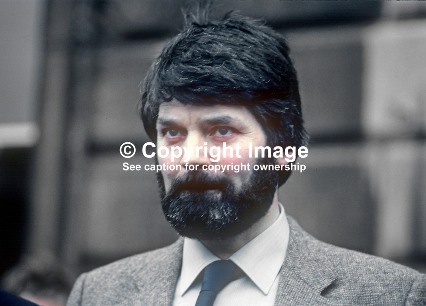 Prionsias de Rossa, TD, Sinn Fein the Workers Party, Rep of Ireland, February 1982, 198202000042PDR<br /> <br /> Copyright Image from Victor Patterson, 54 Dorchester Park, Belfast, UK, BT9 6RJ<br /> <br /> t1: +44 28 9066 1296 (from Rep of Ireland 048 9066 1296)<br /> t2: +44 28 9002 2446 (from Rep of Ireland 048 9002 2446)<br /> m: +44 7802 353836<br /> <br /> e1: victorpatterson@me.com<br /> e2: victorpatterson@gmail.com<br /> <br /> www.victorpatterson.com<br /> <br /> IMPORTANT: Please see my Terms and Conditions of Use at www.victorpatterson.com