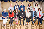 The Bishop of Kerry award certificates to all the participants in Pastoral Ministry at a ceremony in the Earl of Desmond Hotel on Tuesday. Pictured Youth Pastoral Ministry Group front l-r  Bernie McCaffrey, Tara Mulvihill, Ann Leen, Bishop Ray Browne, Aine O'Donoghue, Bobby Boylan and Margaret Doyle. Back l-r Kieran Beehan, Catriona Buckley, PJ Mulvihill, Grece Citus and Ann Kearney
