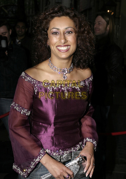 "SIRA (FROM ""THE APPRENTICE"").Attends the final of ""Specsavers' Sexiest Specs Wearer Competition 2005"",  Waldorf Hilton Hotel, Aldwych, London, May 12th 2005..half length.Ref: AH.www.capitalpictures.com.sales@capitalpictures.com.©Adam Houghton/Capital Pictures."