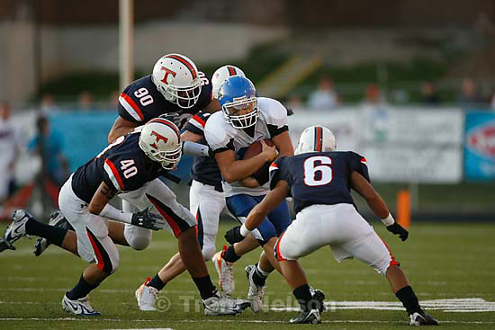 Provo - Timpview vs. Pleasant Grove high school football Friday, August 21 2009...