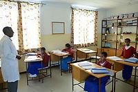 ETHIOPIA, Amhara, Gondar, school for blind children / AETHIOPIEN, Amhara, Gonder, Schule fuer blinde Kinder