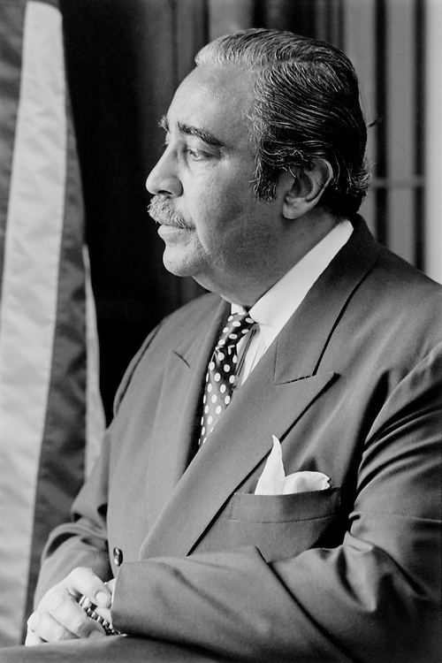 "Rep. Charles Bernard ""Charlie"" Rangel, D- N.Y., House of Representatives Member, looking away. (Photo by Chris Martin/CQ Roll Call)"