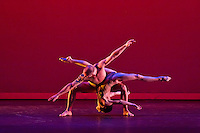 Dancers perform for the Nevada Dance Project at the Reed Whipple Theatre in Las Vegas, NV