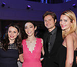 Skaters - Sasha Cohen - Meryl Davis - Charlie White - Tanith White - The 11th Annual Skating with the Stars Gala - a benefit gala for Figure Skating in Harlem - honoring Cicely Tyson (film, tv and stage actress and was on The Guiding Lignt) and Meryl Davis & Charlie White (Olympic Ice Dance Champions and Meryl winner on Dancing with the Stars) and hosted by Mary Wilson of the Supremes on April 11, 2016 on Park Avenue in New York City, New York with many Olympic Skaters and Celebrities. (Photo by Sue Coflin/Max Photos)