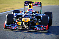 MARK WEBBER (AUS) - RED BULL RENAULT RB8.Formula 1: Test Jerez 08/02/2012.Foto Insidefoto / Gilles Levent / PanoramiC.ITALY ONLY