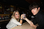 One Life To Live Eddie & Kristen Alderson toast with a coca cola at the Celebrity Bartending Bash on May 14 at Martini's Upstairs, Marco Island, Florida - SWFL Soapfest Charity Weekend May 14 & !5, 2011 benefitting several children's charities including the Eimerman Center providing educational & outfeach services for children for autism. see www.autismspeaks.org. (Photo by Sue Coflin/Max Photos)