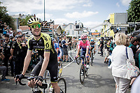 happy teammates<br /> <br /> Stage 12: Toulouse to Bagnères-de-Bigorre (202km)<br /> 106th Tour de France 2019 (2.UWT)<br /> <br /> ©kramon