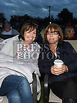Aisling Herron and Susan Doyle at the East Meath United outdoor Cinema night. Photo:Colin Bell/pressphotos.ie