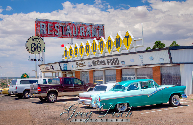 Route 66 Restaurant located in Santa Rosa New Mexico.