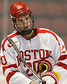 Brien Diffley (BU - 20) The Boston University Terriers defeated the visiting Yale University Bulldogs 5-2 on Tuesday, December 13, 2016, at the Agganis Arena in Boston, Massachusetts.