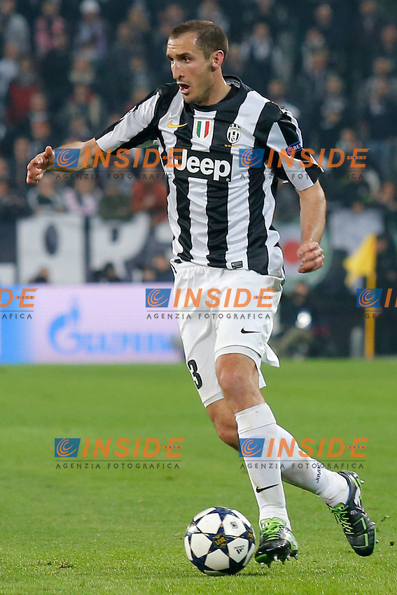 Giorgio Chielini Juventus, Torino 10/4/2013 .Juventus Stadium.Football Calcio 2012/2013 Champions League.Juventus Vs Bayern München.Foto Marco Bertorello Insidefoto