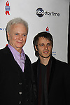 General Hospital Tony Geary & Jonathan Jackson at ABC Daytime Salutes Broadway Cares/Equity Fights Aids - The Grand Finale Celebration on March 13, 2011 with a musical show at Town Hall, New York City, New York followed by an after party at the New York Marriott Marquis. (Photo by Sue Coflin/Max Photos)