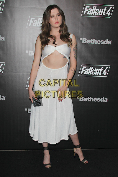 LOS ANGELES, CA - NOVEMBER 5: Ireland Baldwin at the Fallout 4 video game launch event in downtown Los Angeles on November 5, 2015 in Los Angeles, California. <br /> CAP/MPI21<br /> &copy;MPI21/Capital Pictures