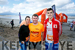 At the start of the 5km Sandstorm challenge last Saturday on Ballyheigue beach were Christine Brosnan, Brian Lucid, Ryan Brodrick