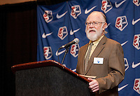 Jack Huckel. The NWSL draft was held at the Pennsylvania Convention Center in Philadelphia, PA, on January 17, 2014.