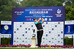 Yongliang Shao of China tees off on the 1st hole during the Round 1 of the Faldo Series Asia Grand Final at Mission Hills on March 2, 2011 in Shenzhen, China. Photo by Raf Sanchez / Faldo Series