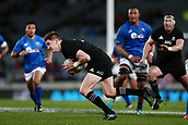 16th June 2017, Eden Park, Auckland, New Zealand; International Rugby Pasifika Challenge; New Zealand versus Samoa;  Jordie Barrett of New Zealand makes a break