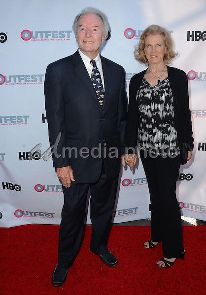 "11 July 2015 - West Hollywood, California - William Wellman, Jr.. Arrivals for the 2015 Outfest Los Angeles LGBT Film Festival screening of ""Tab Hunter Confidential"" held at The DGA Theater. Photo Credit: Birdie Thompson/AdMedia"
