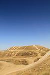 Israel, Southern Coastal Plain, Tel Milha on the western bank of Nahal Shikma