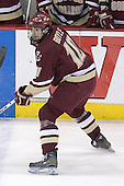 Brian Boyle of Hingham, Massachusetts captains the Boston College Eagles.  The senior forward was drafted 26th overall by the Los Angeles Kings in the 2003 NHL Entry Draft. The Boston College Eagles defeated the University of Wisconsin Badgers 3-0 on Friday, October 27, 2006, at the Kohl Center in Madison, Wisconsin in their first meeting since the 2006 Frozen Four Final which Wisconsin won 2-1 to take the national championship.<br />