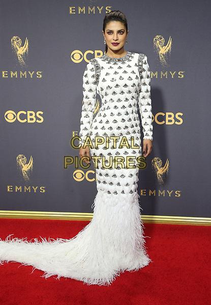 17 September 2017 - Los Angeles, California - Priyanka Chopra. 69th Annual Primetime Emmy Awards held at Microsoft Theater. <br /> CAP/ADM/FS<br /> &copy;FS/ADM/Capital Pictures
