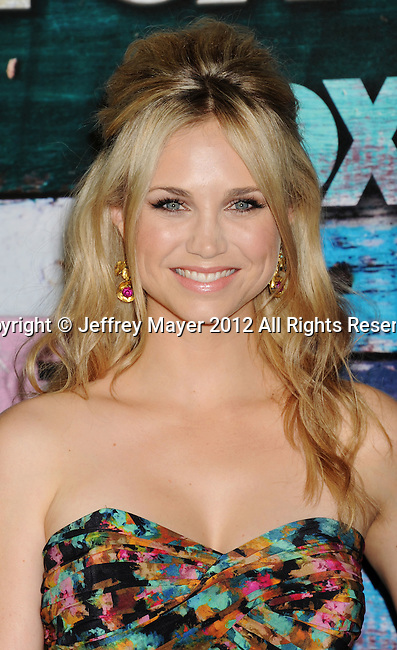 WEST HOLLYWOOD, CA - JULY 23: Fiona Gubelmann arrives at the FOX All-Star Party on July 23, 2012 in West Hollywood, California.