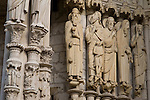 Facade, Chartres Cathedral, France