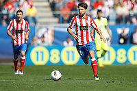 01.04.2012 MADRID, SPAIN -  La Liga match played between At. Madrid vs Getafe (3-0) at Vicente Calderon stadium. the picture show Diego Ribas da Cunha (Brazilian midfielder of At. Madrid)