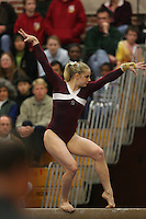 17 February 2006: Natalie Foley during Stanford's win over the University of Arizona at Burnham Pavilion in Stanford, CA.