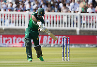 Fakhar Zaman (Pakistan) cuts to the point boundary during Pakistan vs Bangladesh, ICC World Cup Cricket at Lord's Cricket Ground on 5th July 2019