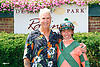 Tyler Gaffalione & fan after Proud Reunion won at Delaware Park on 7/15/17