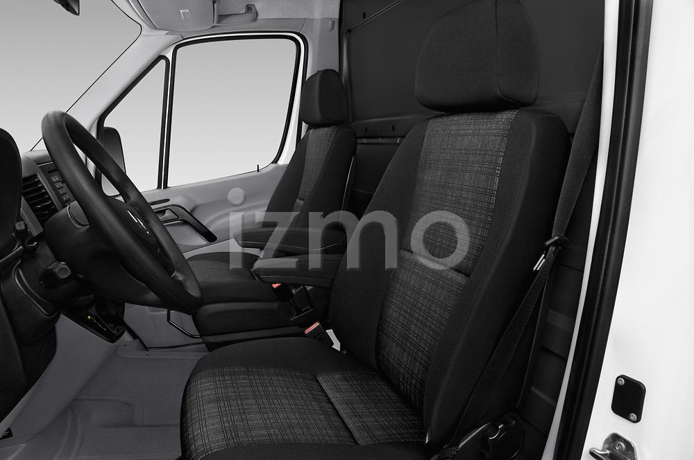 Front seat view of 2017 Mercedes Benz Sprinter Base 4 Door Cargo Van front seat car photos