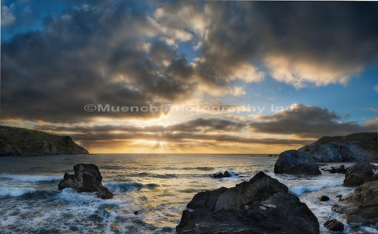LIttle Harbor, sunset, Catalina Island