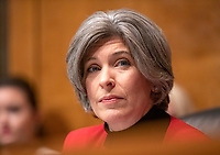 United States Senator Joni Ernst (Republican of Iowa) looks on as Daniel P. Collins and Kenneth Kiyul Lee testify before the United States Senate Committee on the Judiciary on their nomination to be United States Circuit Judge For The Ninth Circuit on Capitol Hill in Washington, DC on Wednesday, March 13, 2019.<br /> Credit: Ron Sachs / CNP/AdMedia