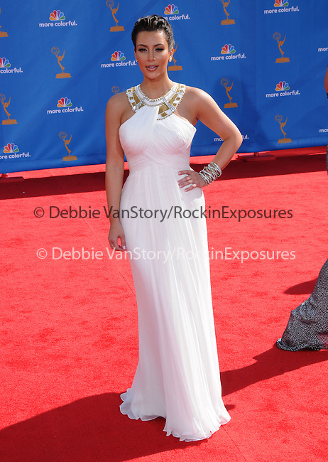 Kim Kardashian at The 62nd Anual Primetime Emmy Awards held at Nokia Theatre L.A. Live in Los Angeles, California on August 29,2010                                                                   Copyright 2010  DVS / RockinExposures