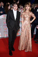 Charlie Heaton &amp; Natalia Dyer at the National Television Awards 2018 at the O2 Arena, Greenwich, London, UK. <br /> 23 January  2018<br /> Picture: Steve Vas/Featureflash/SilverHub 0208 004 5359 sales@silverhubmedia.com