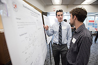 "Scott Niman '18 presents ""Enantioselective Total Synthesis of Isofagomine""<br /> Occidental College's Undergraduate Research Center hosts their annual Summer Research Conference on Aug. 4, 2016. Student researchers presented their work as either oral or poster presentations at the final conference. The program lasts 10 weeks and involves independent research in all departments.<br /> (Photo by Marc Campos, Occidental College Photographer)"